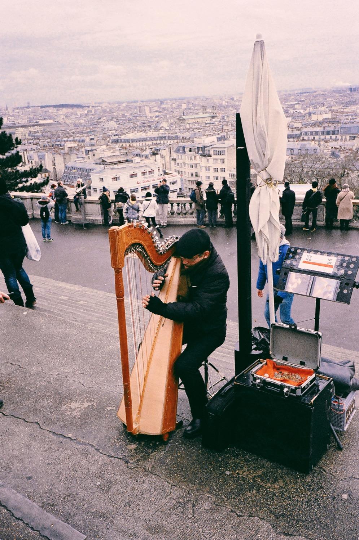 巴黎聖心堂,底片拍攝,生活紀錄,底片旅行,