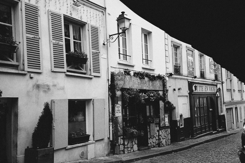 巴黎街景,底片攝影,黑白影像,不只是婚紗