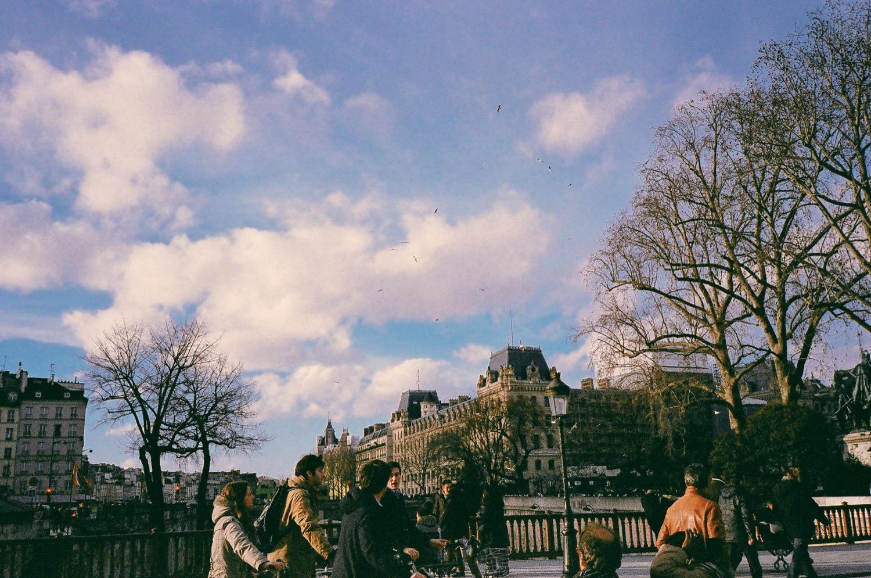 巴黎街景底片攝影,不只是婚紗,旅行日記