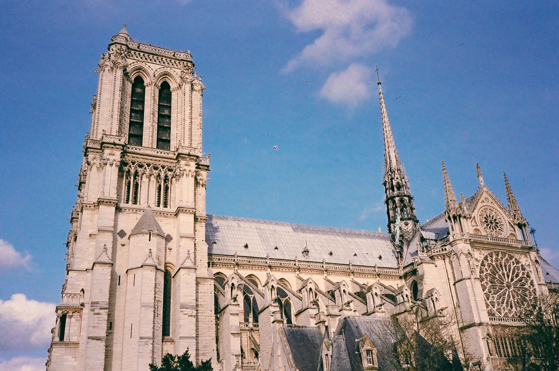 巴黎街景,底片攝影,不只是婚紗,旅行日記,聖母院