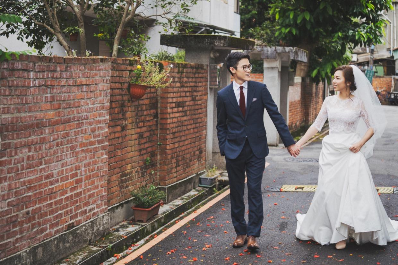 台灣自助婚紗,自助婚紗,台北婚紗,婚紗攝影,巷弄婚紗