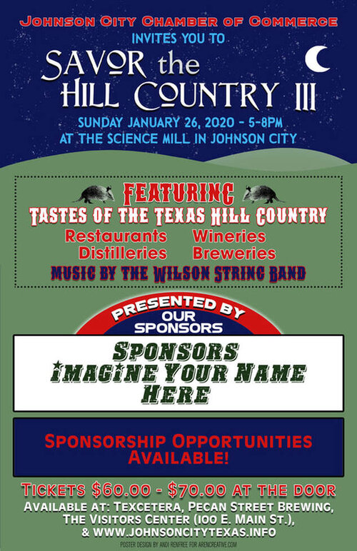 Closed for Private Event: Savor the Hill Country III