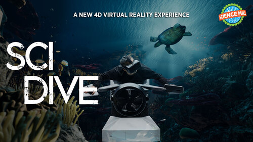 5th Anniversary + SciDive 4D Grand Opening