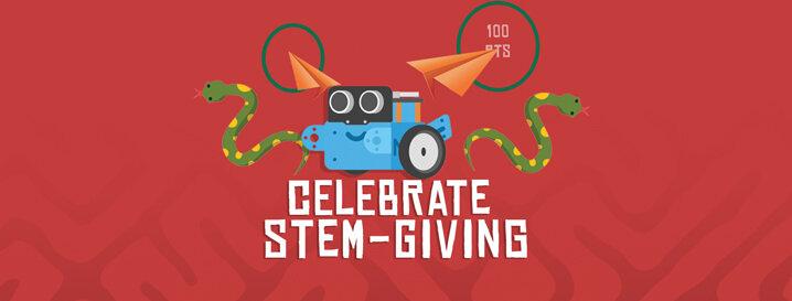Celebrate STEM-giving!