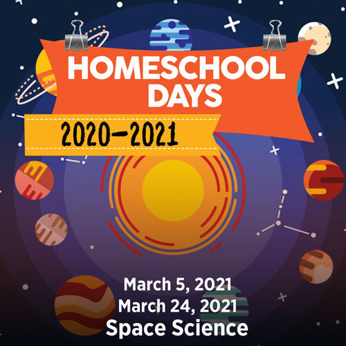 March 24 Homeschool - Space Science