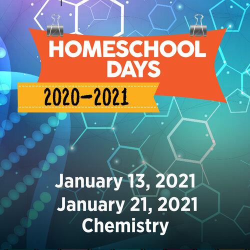 January 13 Homeschool Day- Chemistry