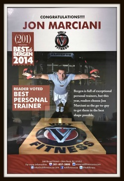 2014 Best Personal Trainer!