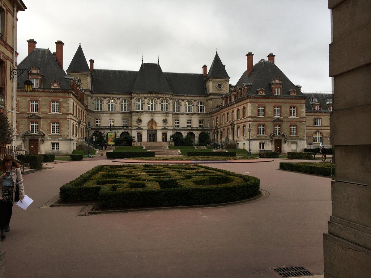 The Maison Internationale in Paris, venue of the 1st ENDL workshop (Feb. 21, 2017)