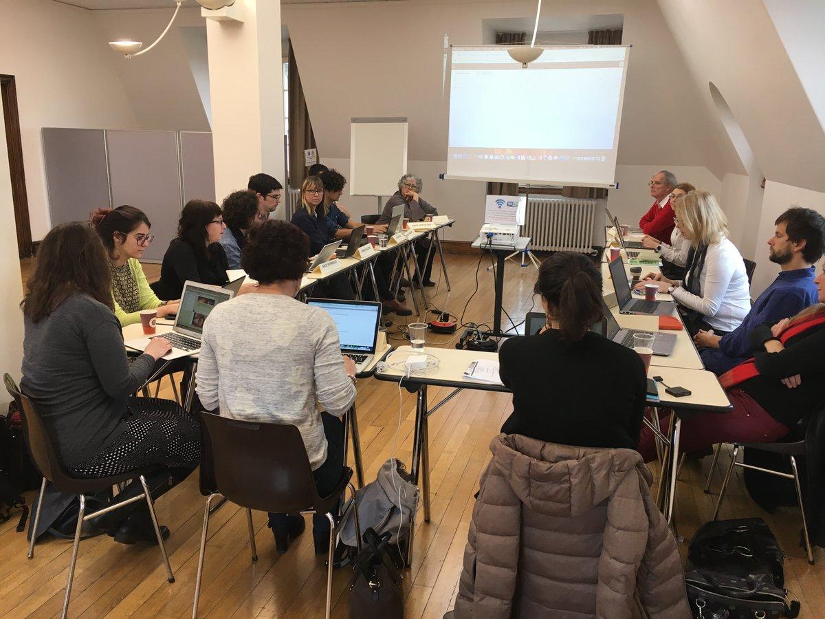 Participants of the 1st ENDL workshop (Feb. 21, 2017)