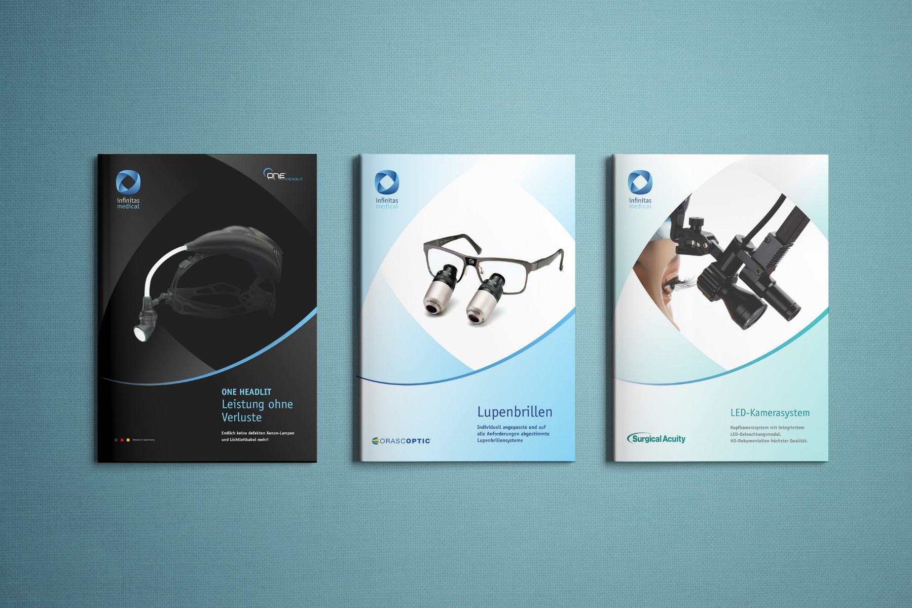 Infinitas Medical Product Brochures