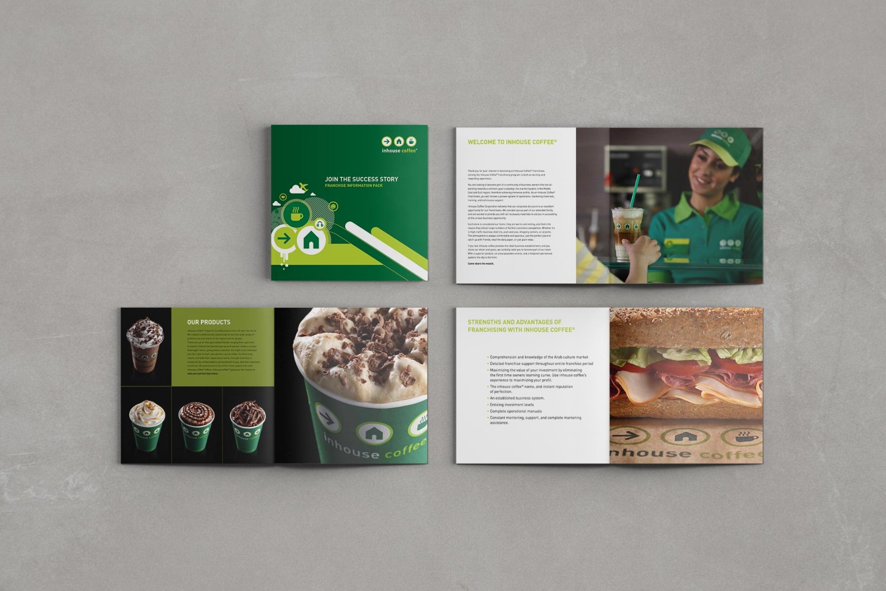 Inhouse Coffee Franchise Brochure