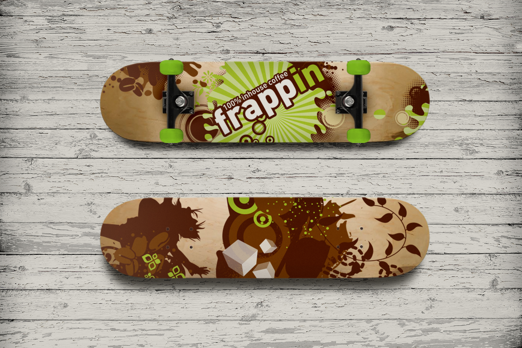 Frappin skateboard