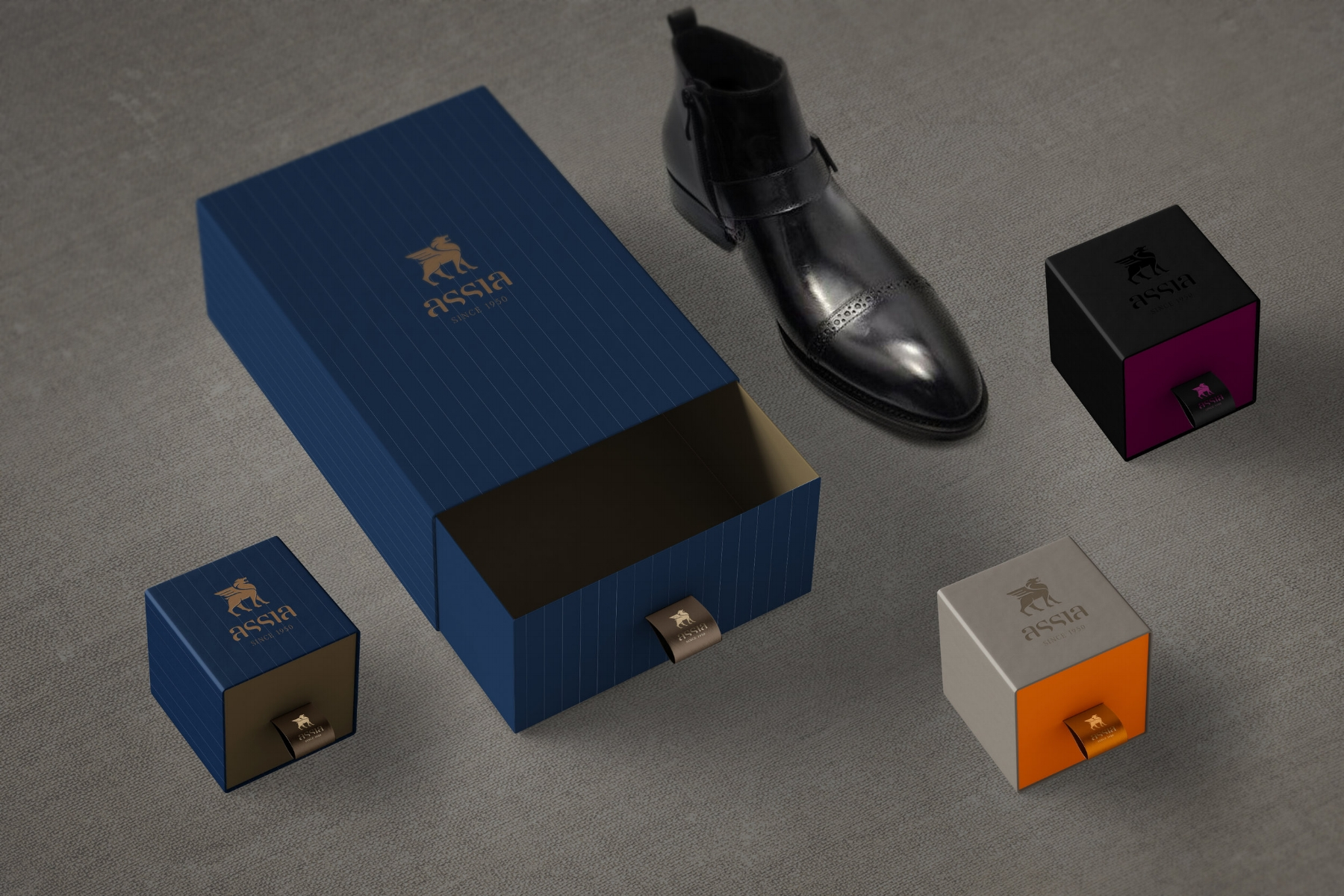 Shoes and Accessories packaging