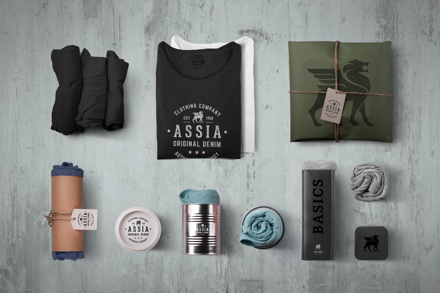 Assia Original Denim & Assia Basics packaging