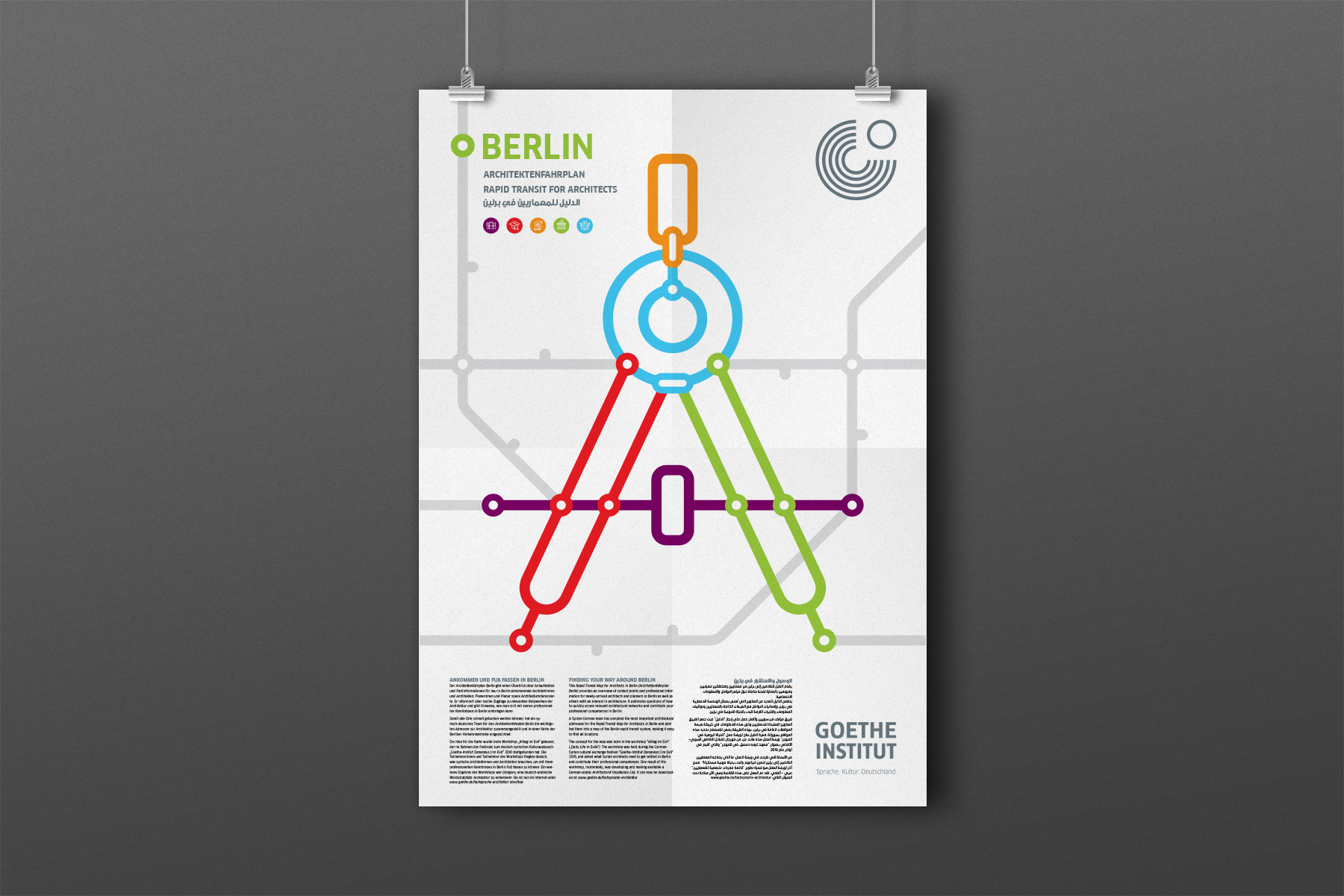 Rapid Transit for Architects in Berlin, Goethe Institut