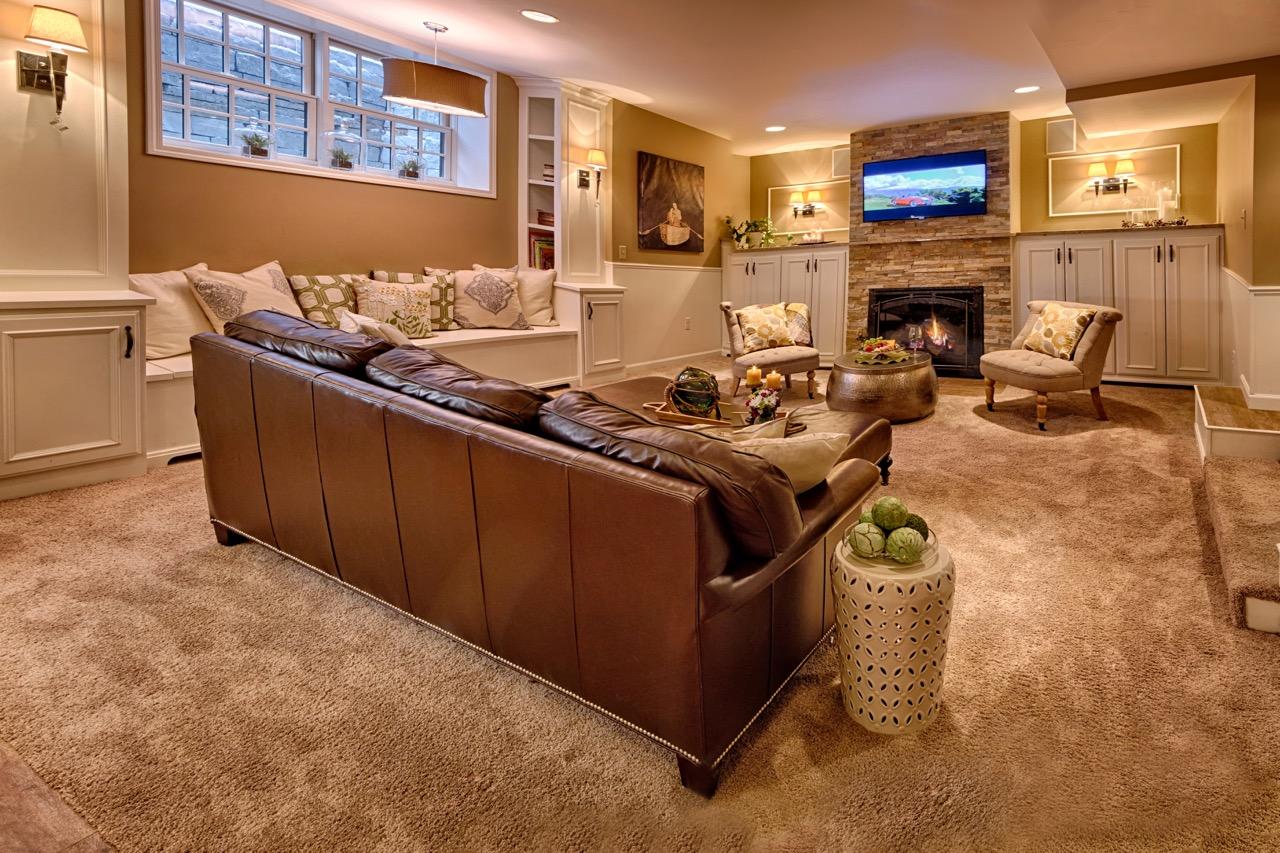 Mom's Design Build - Interior Basement Remodel