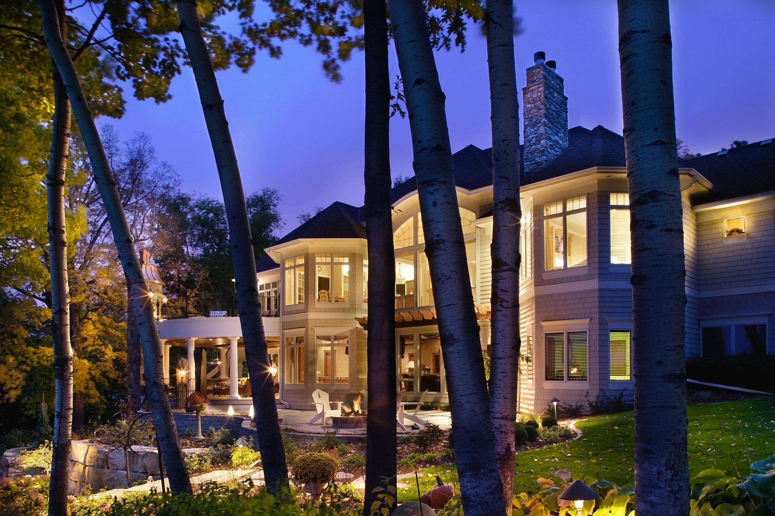 Moms Design Build - Lake Minnetonka Hardscape Deck Overlook