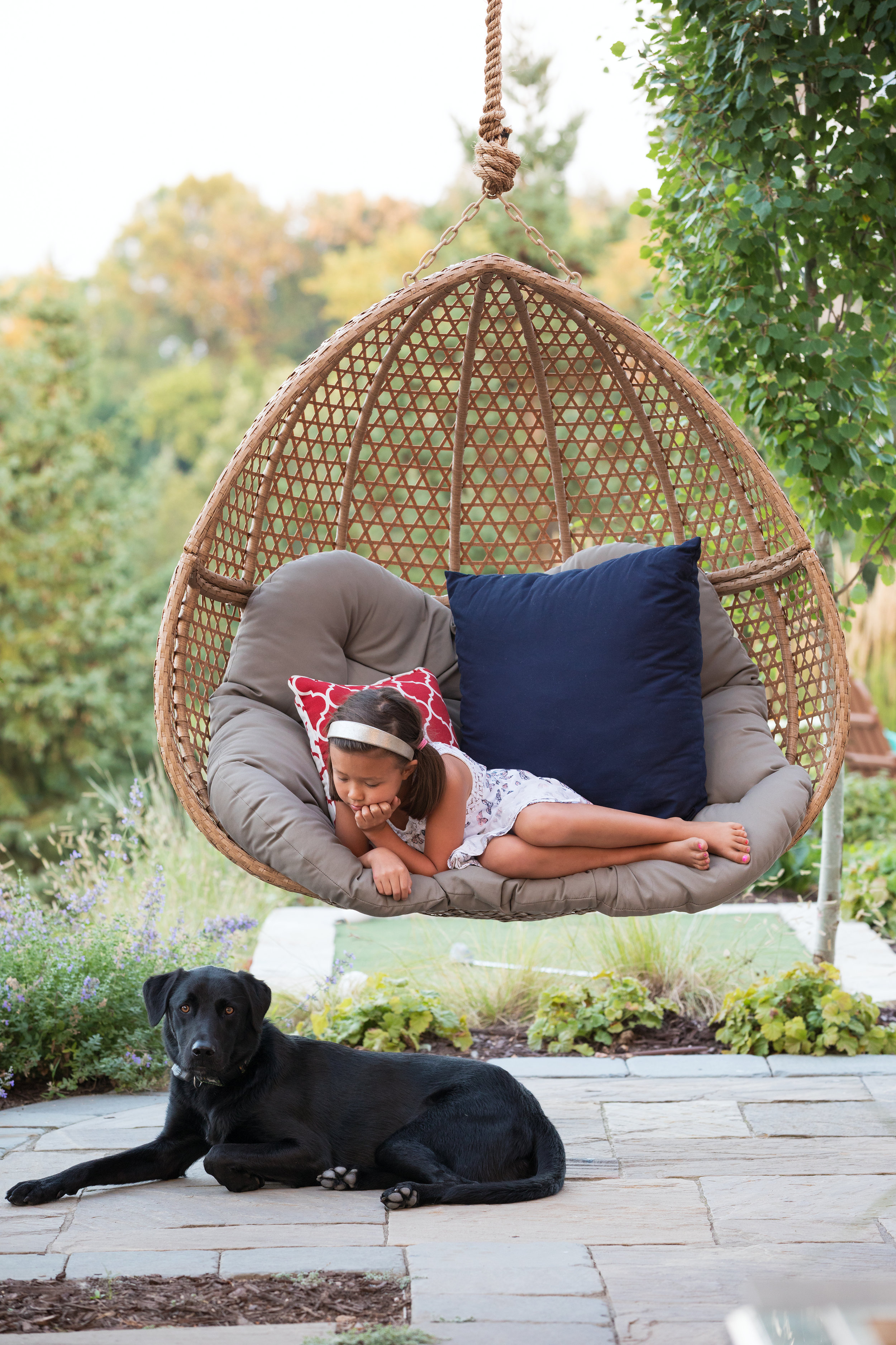Mom's Design Build - Contemporary Outdoor Swing Chair
