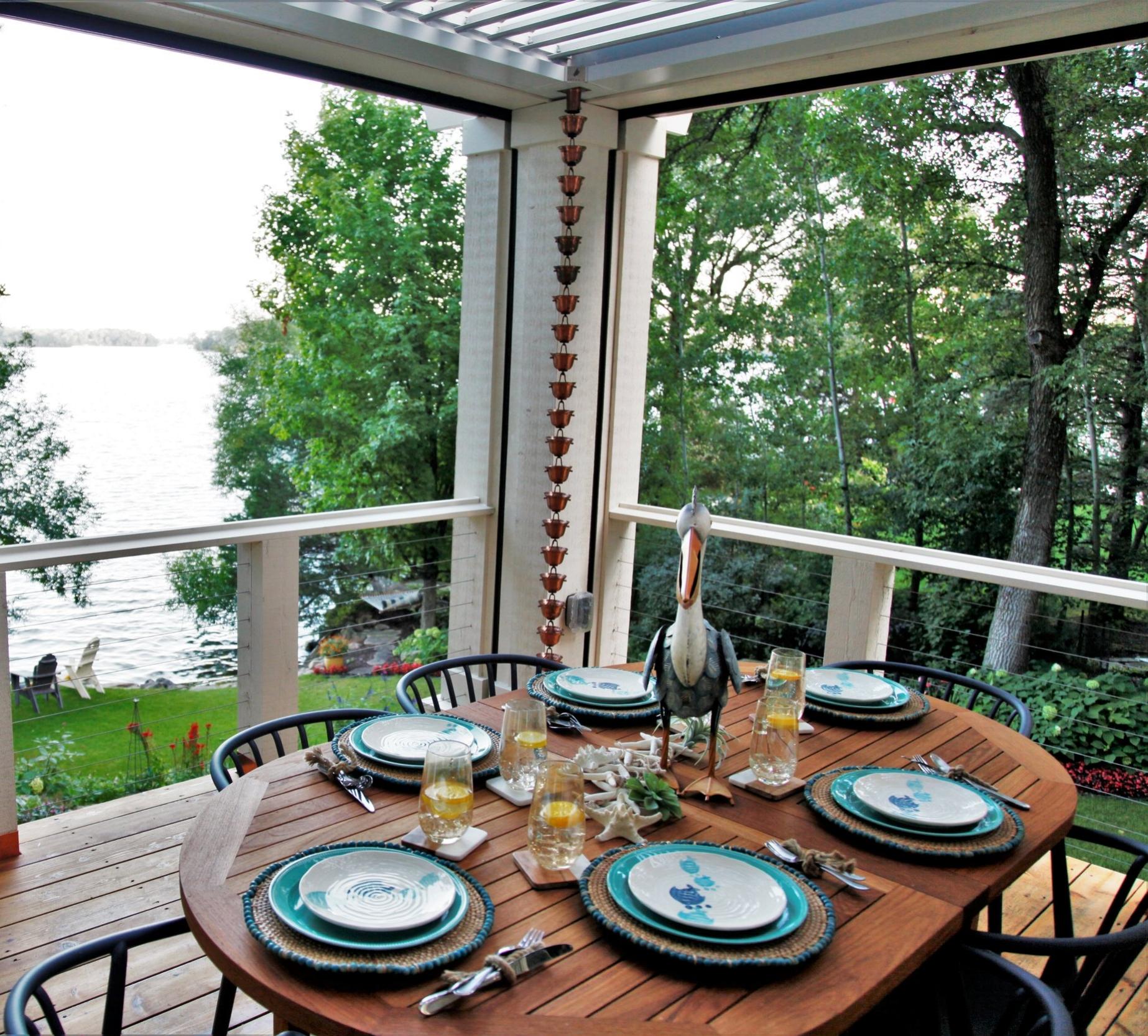 Mom's Design Build - Backyard Outdoor Dining Table