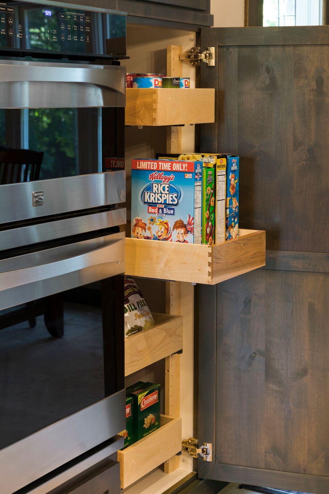 Moms Design Build - Custom Kitchen Storage Space