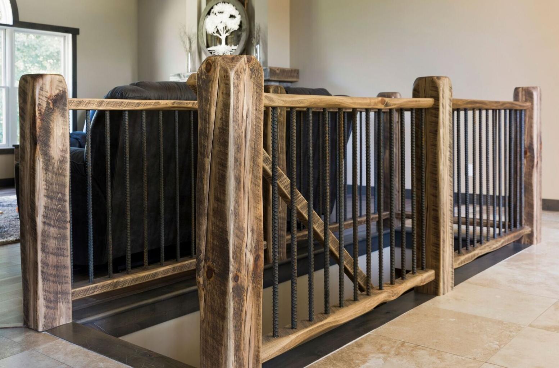 Moms Design Build - Hand Made Custom Farmhouse Railing