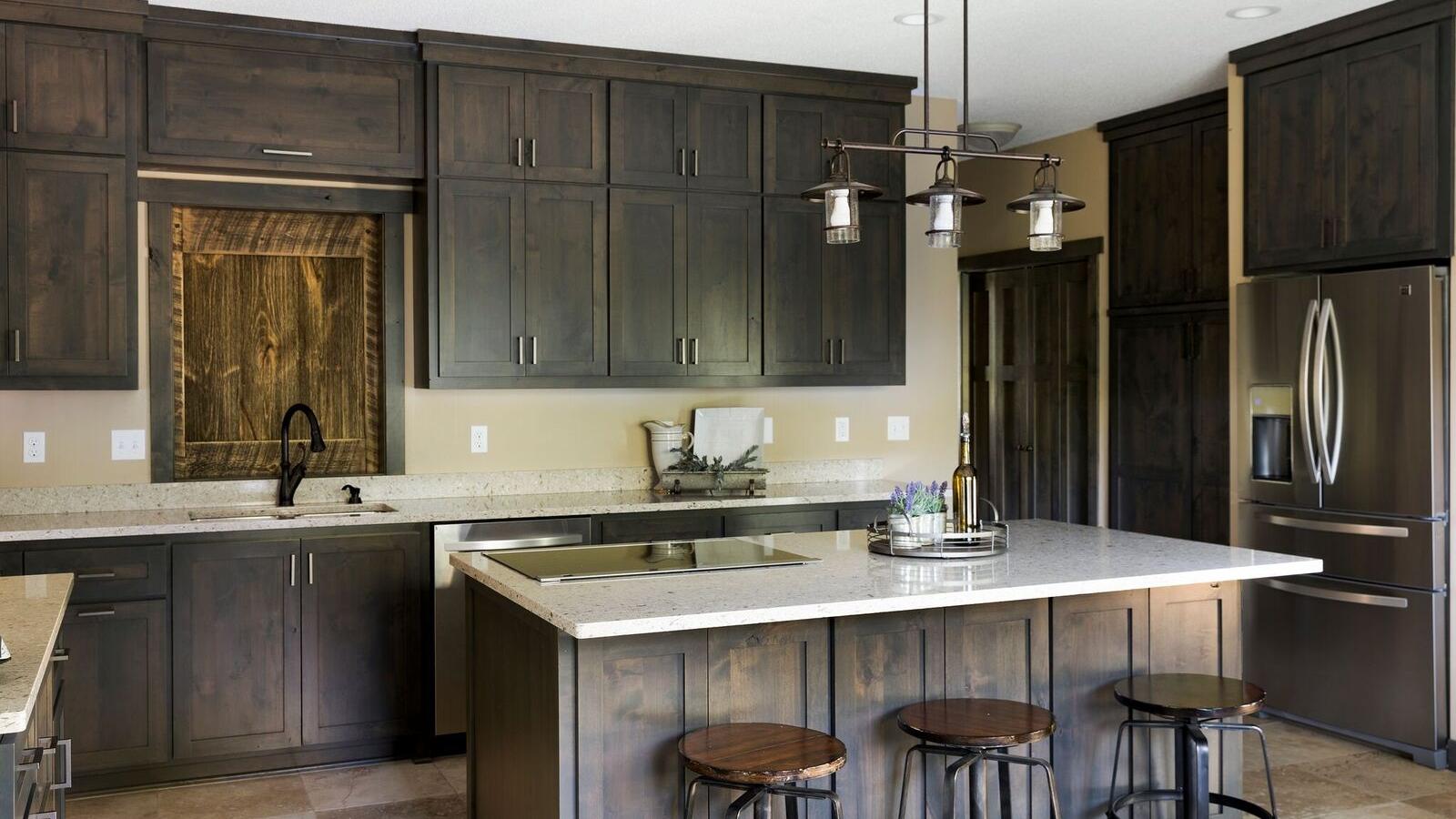Moms Design Build - Rustic Modern Farmhouse Kitchen