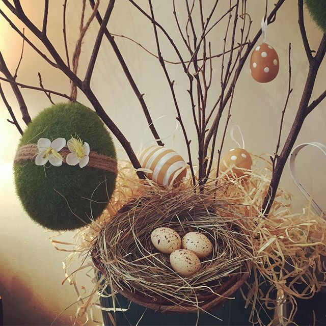 Happy Easter 🐣 #easter  #saturday #eggs #eastertree  #eastertreedecorations #corkcity