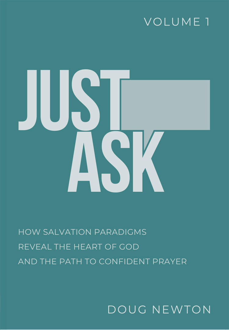 Just Ask: Volume One  exposes the reader to the concept of salvation paradigms and introduces five paradigms that cluster together under the banner of   reconciliation  . Each chapter concludes with helpful summaries and numerous examples to reinforce the discovered and practice more confident prayers.