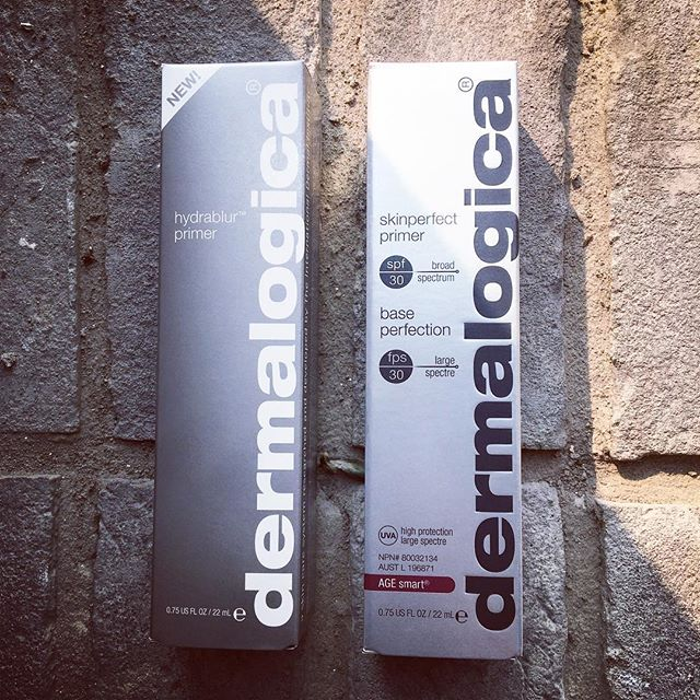 PRIMERS! 🙆🏻♀️ Did you know @dermalogica has primers?! • Hydrablur Primer blurs fine lines and pores while hydrating and brightening for a naturally flawless look! • Skinperfect Primer SPF 30 smooths fine lines, brightens and primed for flawless looking skin all while protecting you from UV rays! . . . . #dermalogica #dermalogicaskincare #primers #makeup #skincare #yeg #yegsalon #sprucegrove #makeuponpoint #perfectskin #flawlessskin