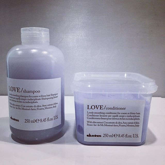 LOVE Shampoo ➿ Lovely smoothing shampoo for coarse or frizzy hair! ➿ . . . #davines #davinessalon #davinesofficial #lovecurl #curlshampoo #davinesnorthamerica #davinesproduct #davineslovers #yegsalon #sprucegrove #yeg #salonproduct