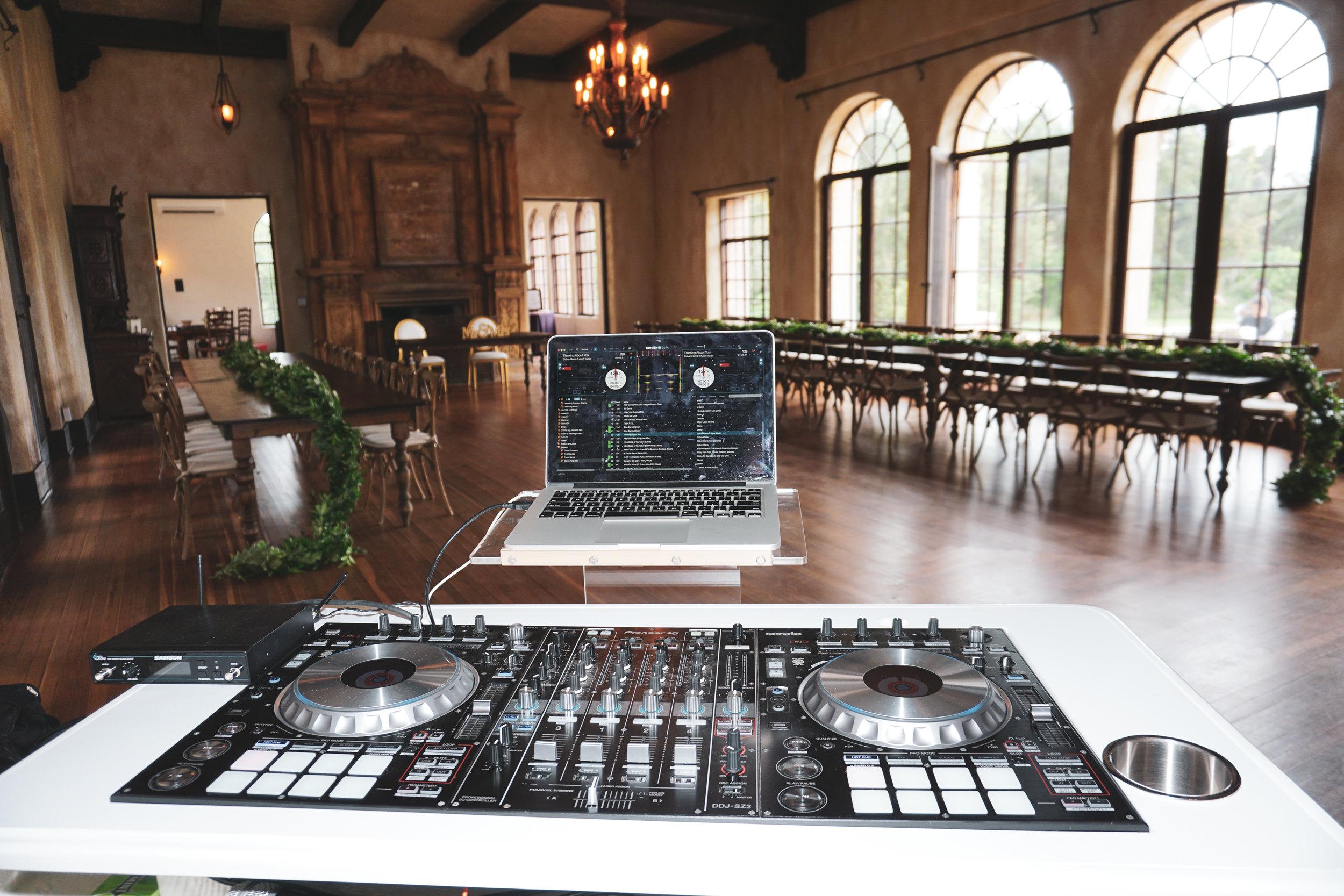 DJ Danny Garcia at Howey Mansion