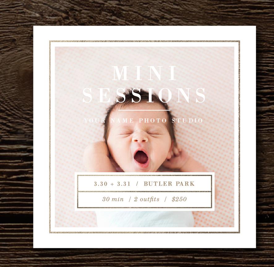 mini-session-templates