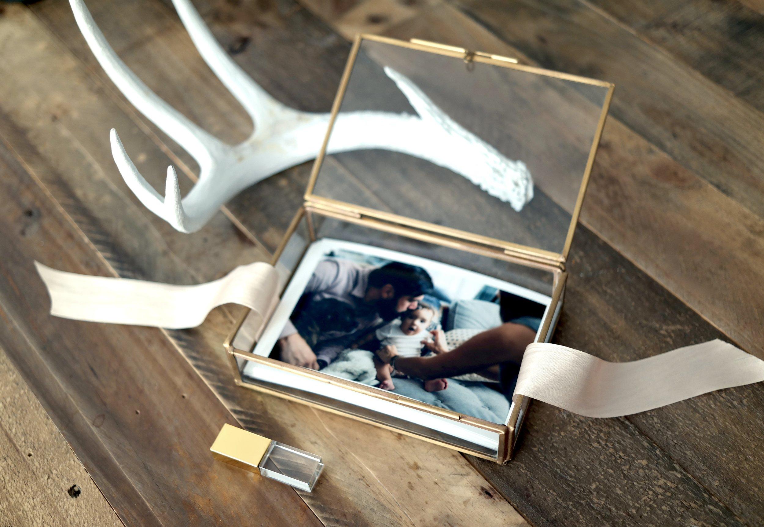 Photographer boutique packaging ideas