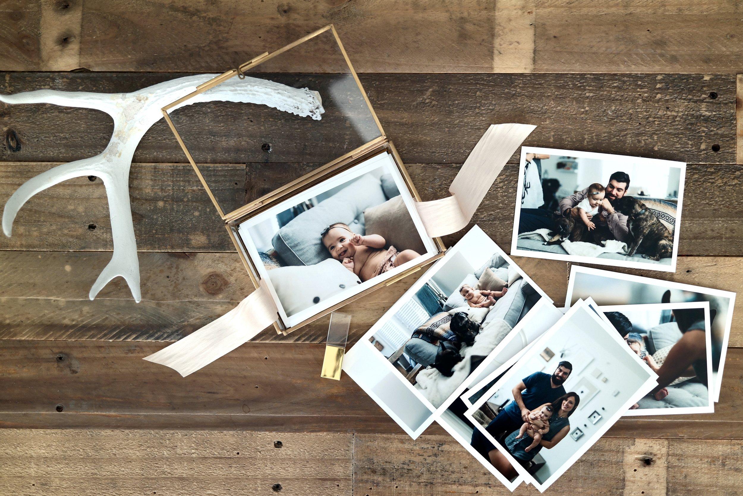 glass box photo storage