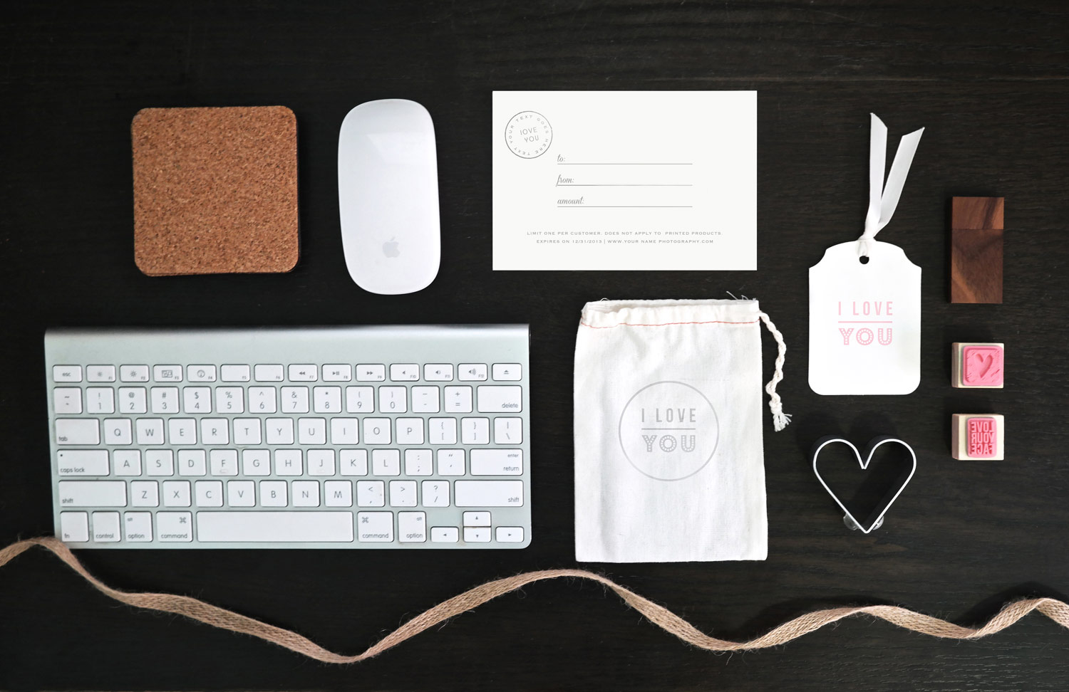 boutique photographer packaging