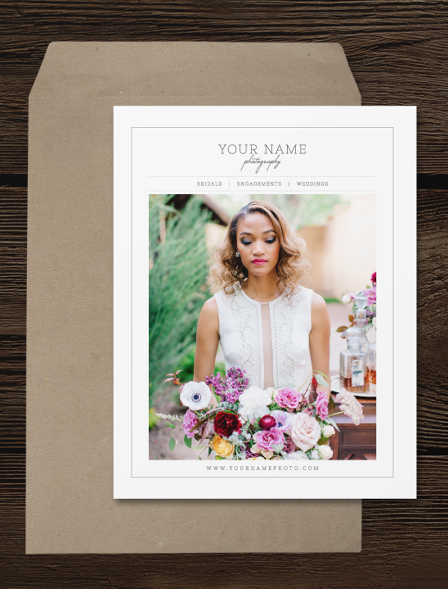wedding photographer welcome packet