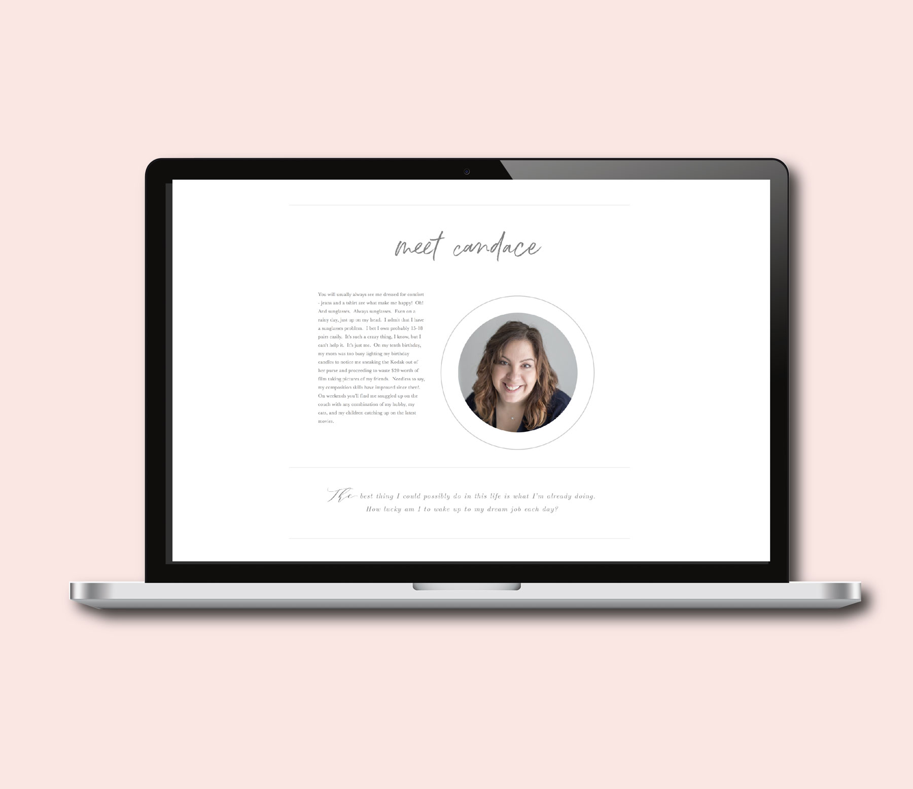 squarespace templates | photography website ideas | bittersweet design boutique