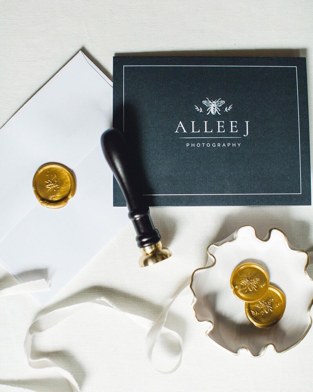 Allee J Photography Logo Design