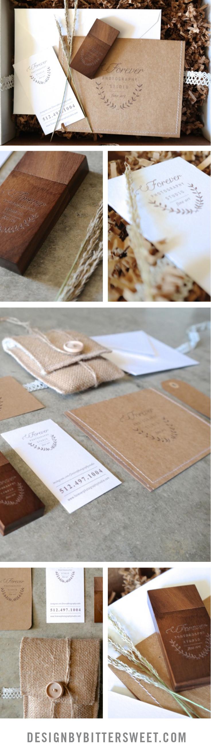 Boutique photographer packaging ideas.