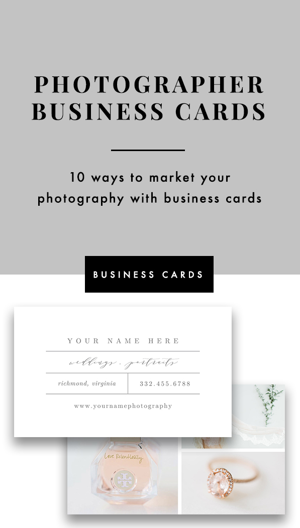 10 ways to market your photography with business cards.