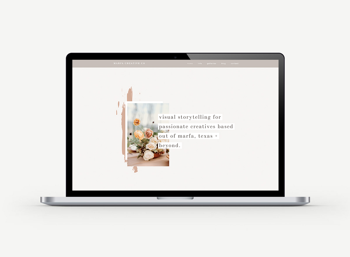 squarespace website design for wedding photographers & bloggers | squarespace website templates for photographers