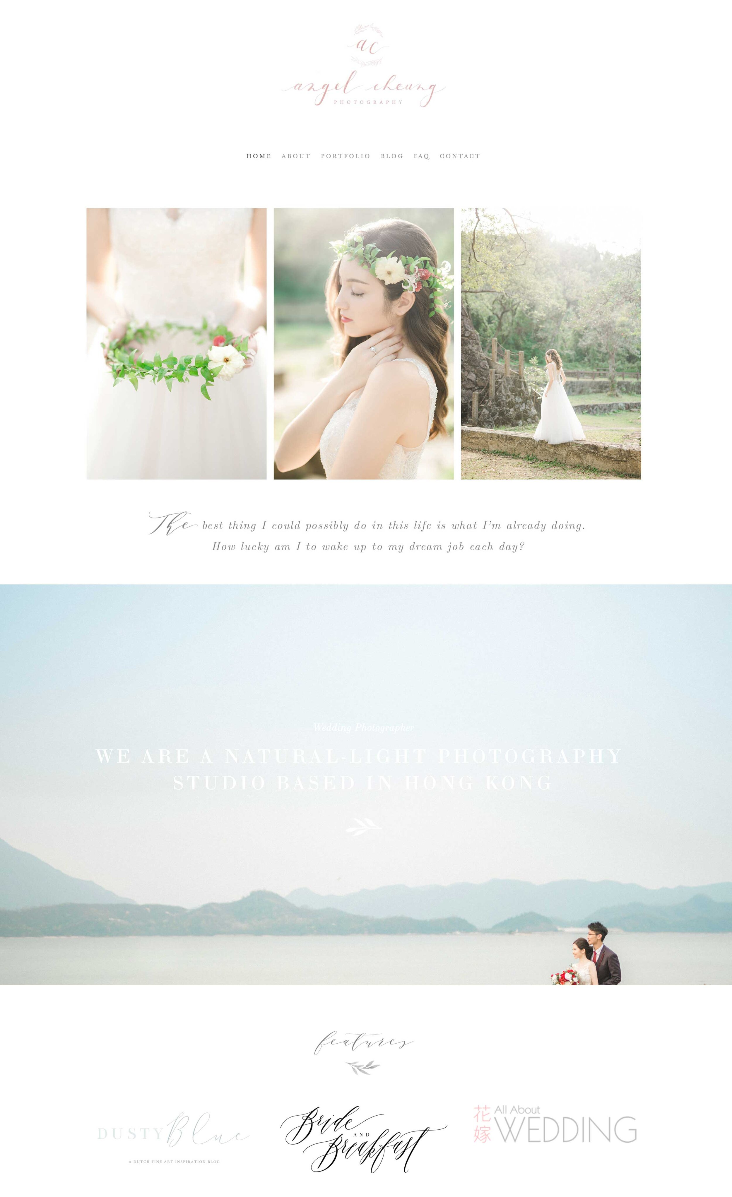 Squarespace design templates for photographers