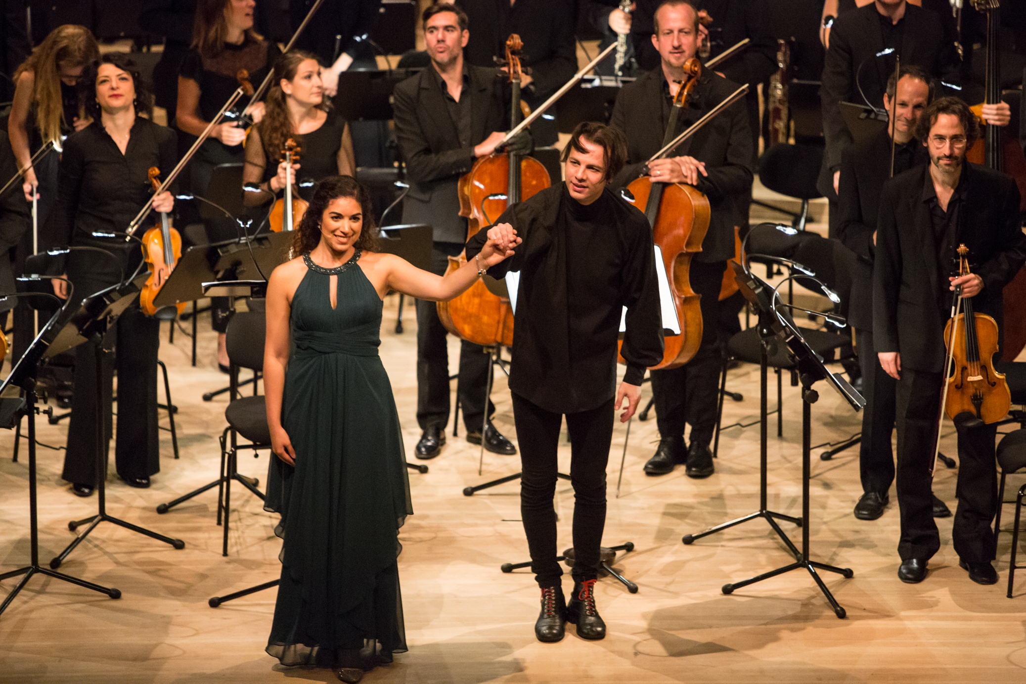 Lonely Child  (Vivier) with Mahler Chamber Orchestra & Teodor Currentzis (Photo: Daniel Dittus)