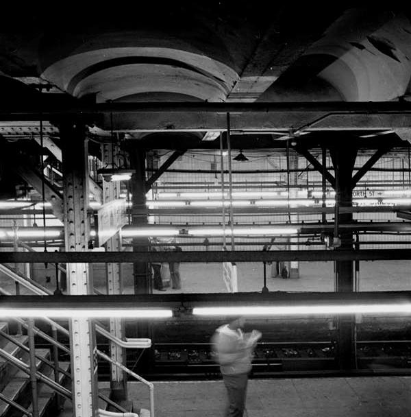 6. Platform and Lights, Brooklyn Bridge and Worth Street, IRT-Lexington Ave..jpg