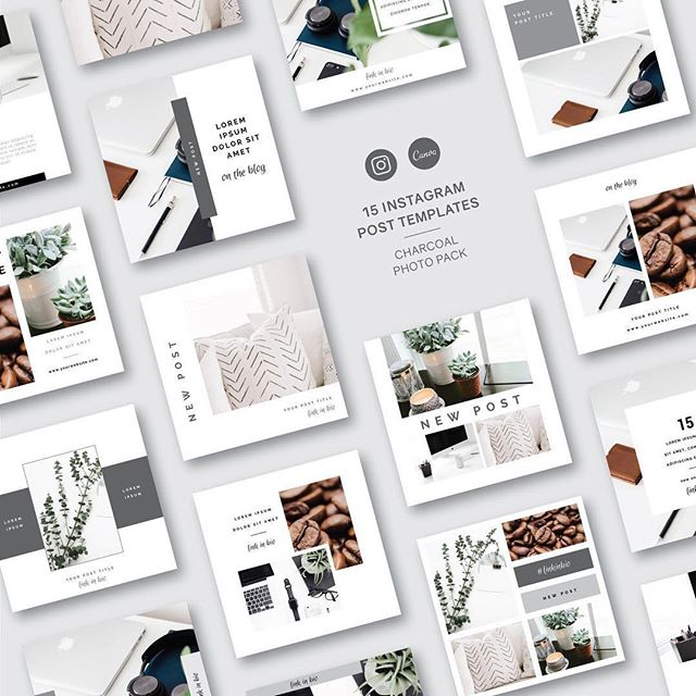 Having a selection of templates on hand for your social media strategy helps you achieve brand consistency and will definitely speed up your content creation process! 👏⠀ ⠀ One of my big goals for 2019 is to continue expanding my offerings to support all you busy entrepreneurs out there. So I'm super delighted to share that tomorrow starts a new chapter of accomplishing that goal. 🥳⠀ ⠀ For the first time ever, I'm adding Digital Templates to my Pre-Made Logo + Brand Shop (@logoinaday)! My new templates will be launching tomorrow and I'm giving away 5 of them for FREE!!⠀ ⠀ Want to test out my new Instagram Post Templates? Swipe thru to see previews of what's included! 👉⠀ ⠀ Setup for easy editing in Canva, my 5 FREE Templates will make an awesome difference in your feed! Ready for immediate access, these templates are fully customizable for your brand and I've included easy step-by-step customization instructions!⠀ ⠀ Edit text. Edit photos. Edit colors. Use them over & over again, the possibilities are endless! 🎨⠀ ⠀ Download yours now at LOGO.WTF/TRY5 or hit the link in my bio! 🔗⠀ ⠀ I will have 3 types of templates to start when this new category is launched tomorrow! I'd love to know what kind of templates you are currently using (or would love to have available!) so I can be sure to create more of what you need!👇⠀ ⠀ ⠀ ⠀ ⠀ ⠀ #dowhatyoulove #logodesigners #femaleentrepreneur #newlogo #websitedesign #branding #brandidentity #branding101 #designinspiration #creativityfound #mycreativebiz #digitaldesign #inspiration #smallbiz #girlboss #workbrighter #smallbusiness #creativelife #solopreneur #logolove #bloglife #creativeco #premadelogo #blogpromotion #savvybusinessowners #canva #instagramtemplates #timeforachange #socialmediatemplates