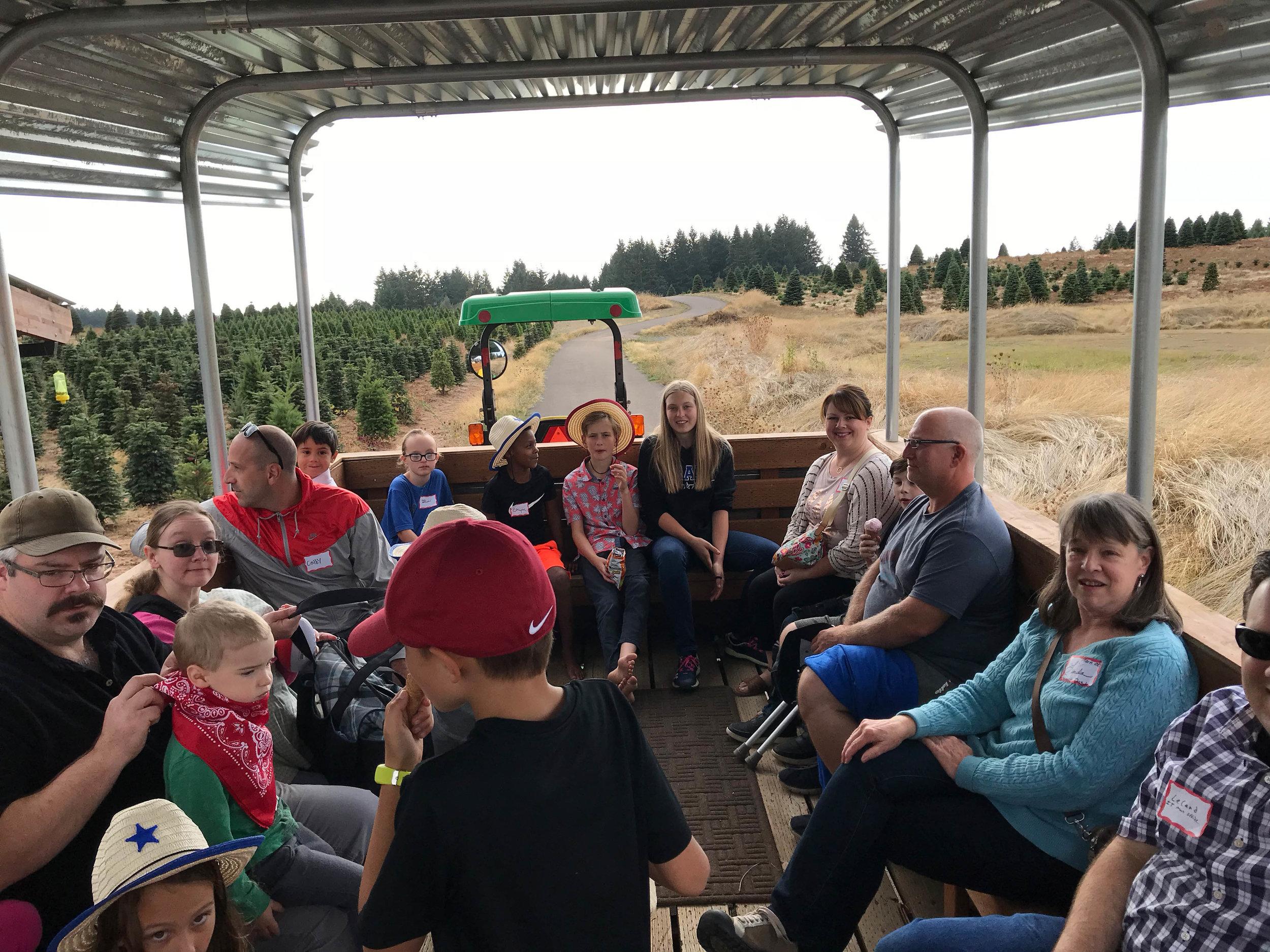 Tractor rides / company picnic