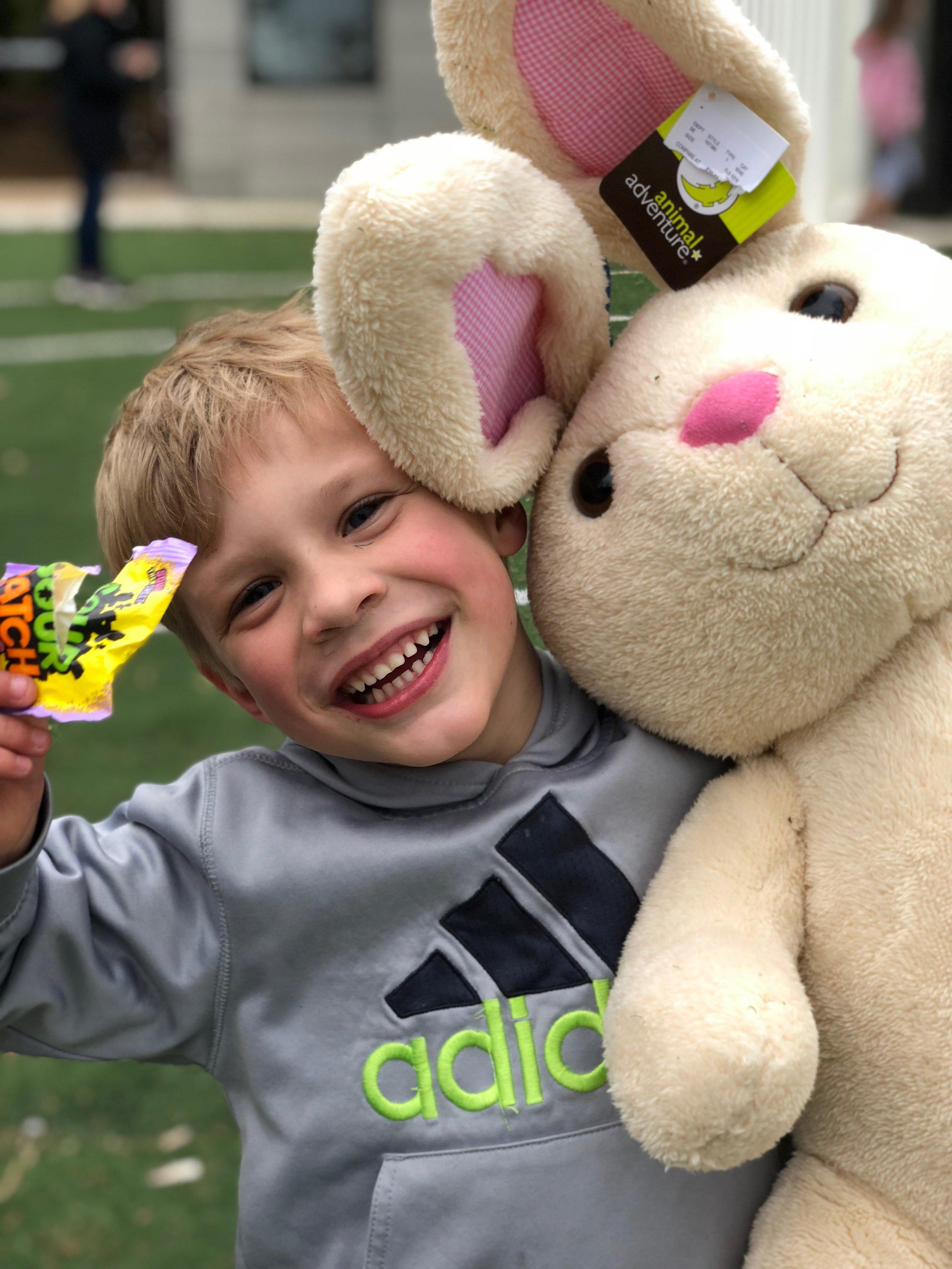 Farm Easter egg hunt
