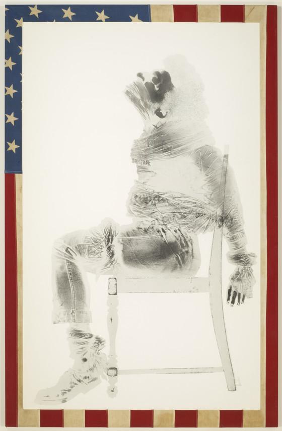 'Injustice Case' (1970) - David Hammons