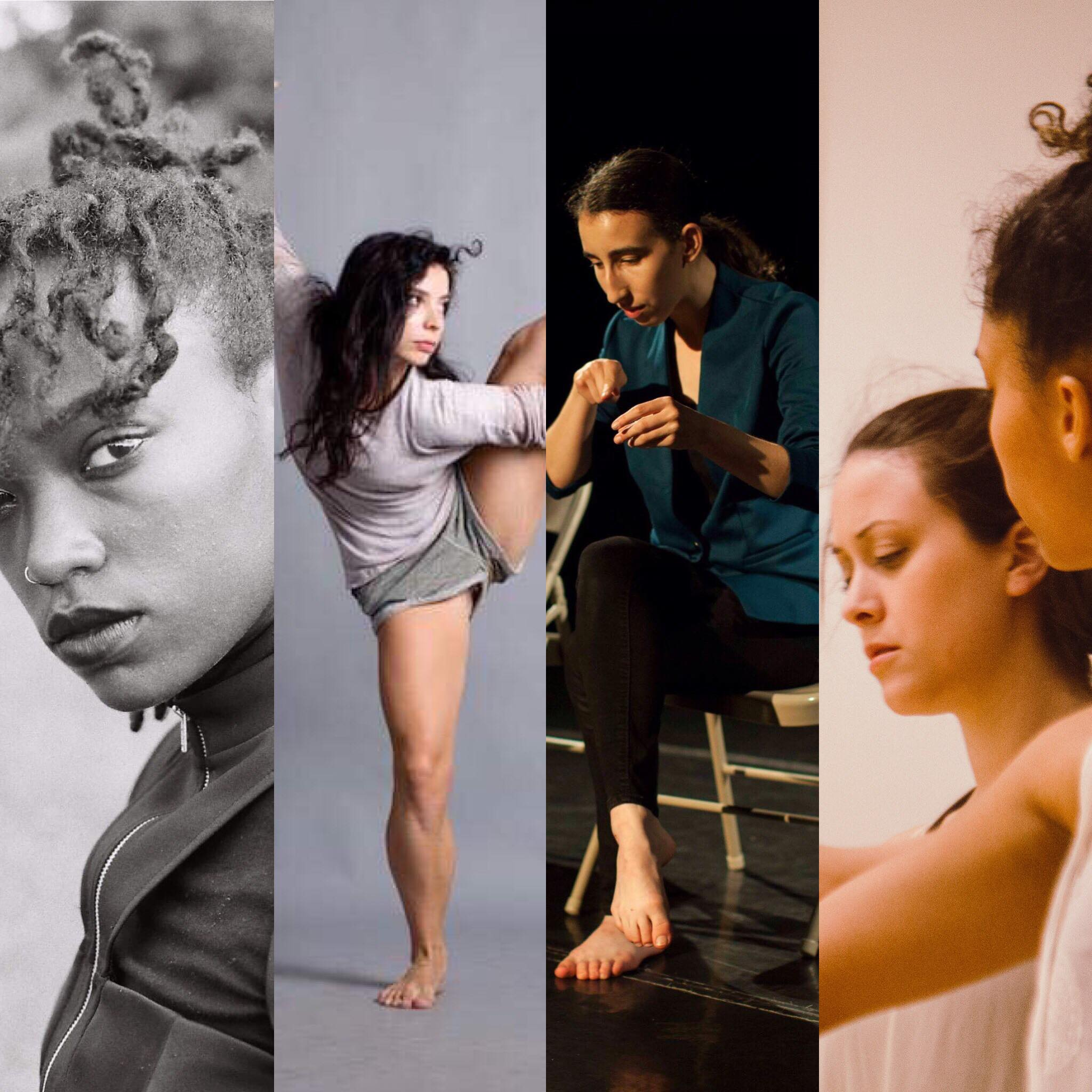 Homegrown Choreographers - Pictured: Amanda Edwards, photo by Jasmine Callis; Diane Auriol of Mollet Contemporary Ballet, Mariah Eastman, photo by Maiya Elliot, KARAR DANCE COMPANY, photo by Brandon Davis