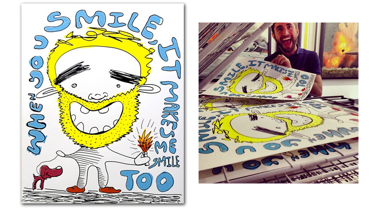 """When You Smile, It Makes Me Smile Too"" (2013)"